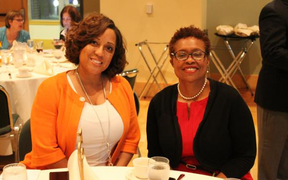 Candi Castleberry-Singleton and Melanie Herrington