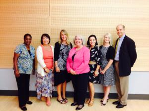 Members of the ACRC with the keynote speaker from 2015