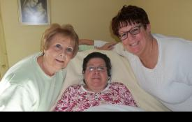 Joyce, Ann, and Vickie